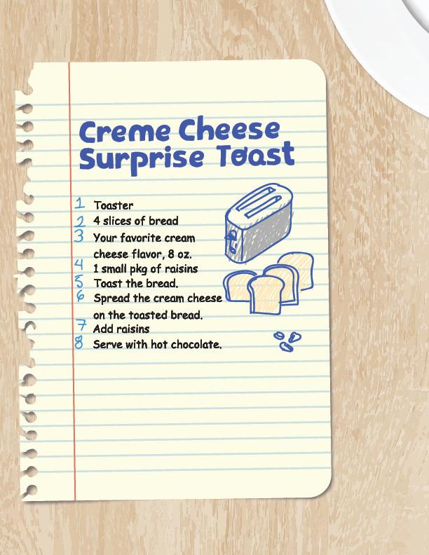 Creme Supreme Cheese Toast