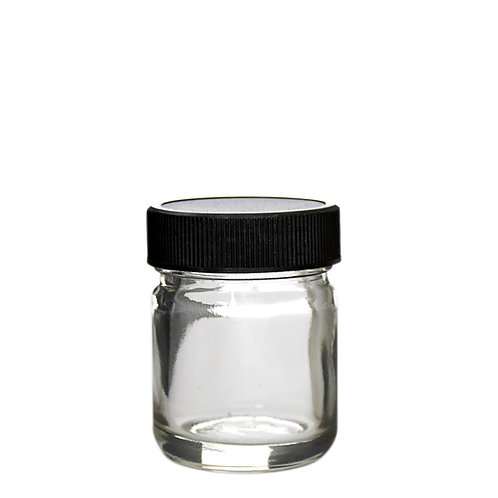 1oz Glass Screw Cap Jars - 252 Count