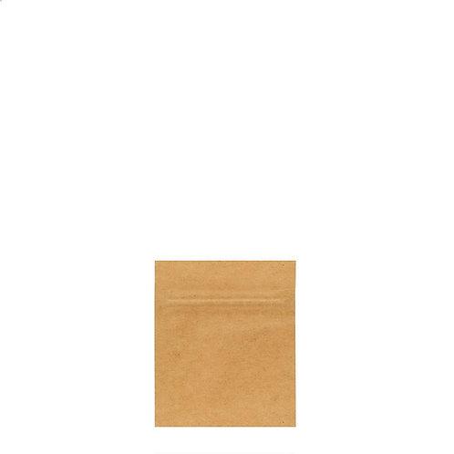 Mylar Bag Vista Kraft 1 Gram - 1,000 Count