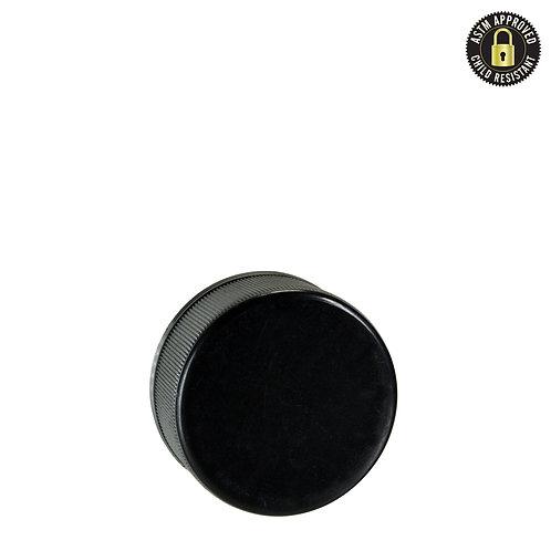 Child-Resistant Push & Turn Plastic Cap - Black - 5ml - 504 Count