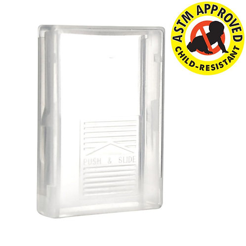 Child Resistant Clear Shatter Box - 250 Count
