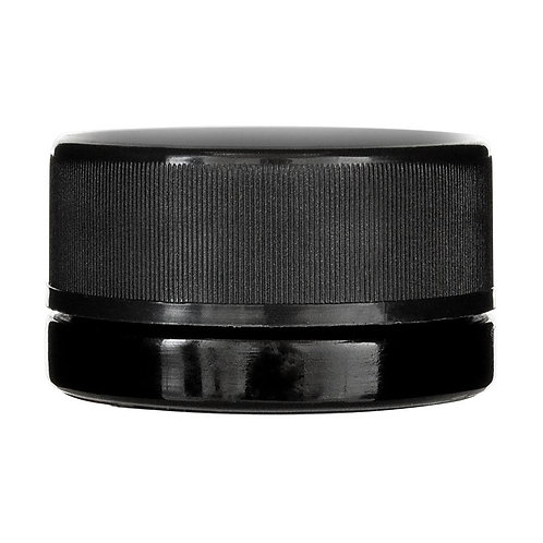 Child Resistant Black Glass Concentrate Container - 9ML - 320 count