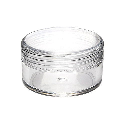 Plastic Screw Top Concentrate Containers 10ML - 100 count