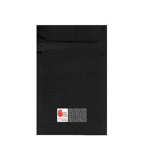 Mylar Bag WA Vista Black 1/2 Ounce - 1000 Count