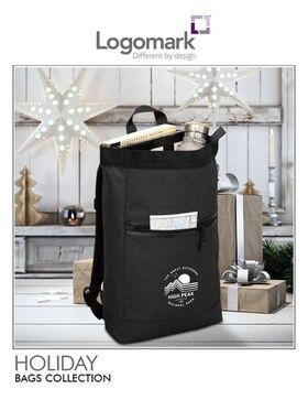 Logomark Holiday Bags Collection