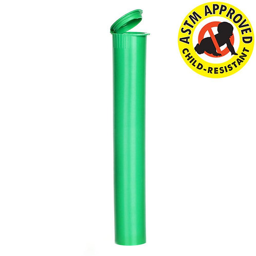 Opaque CR Pre Roll Tube 116mm Green - 1,000 Count