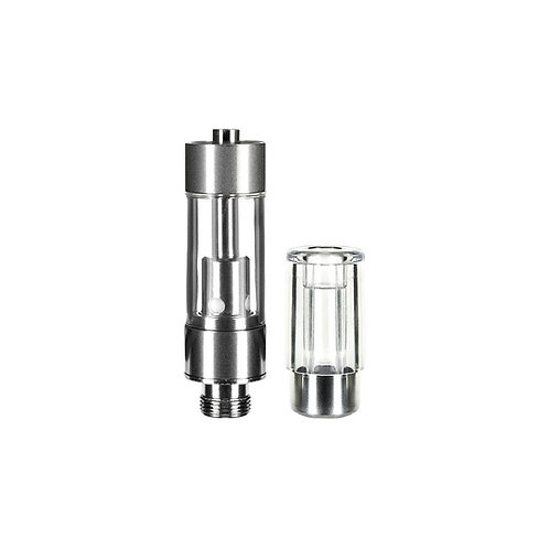 CCELL Plastic Cartridge - Round Plastic Mouthpiece 0.5ml - 100 Count