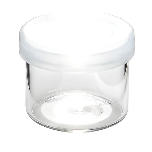 Glass No Neck Concentrate Containers 6ML Tray/144 units