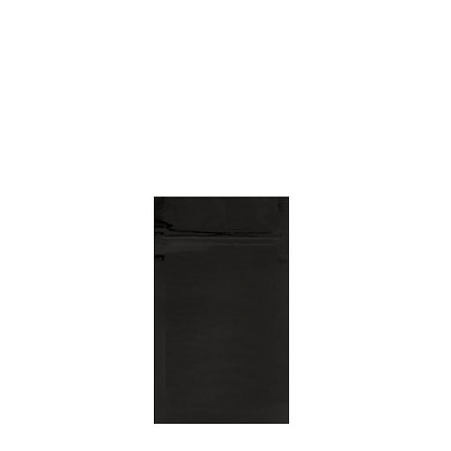 Mylar Bag Vista Black 1/8 Ounce - 1,000 Count