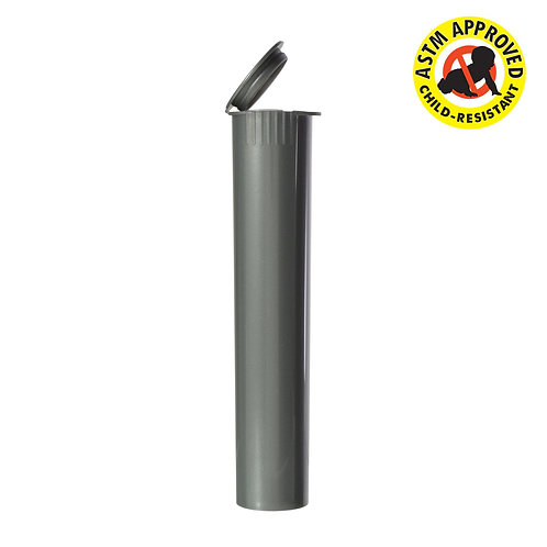 Opaque Child Resistant Pre Roll Tube 95MM Silver - 1,000 Count