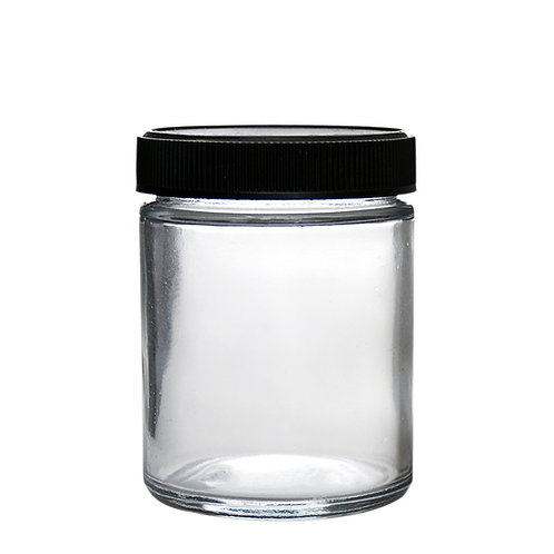 4oz Glass Screw Cap Jars - 120 Count