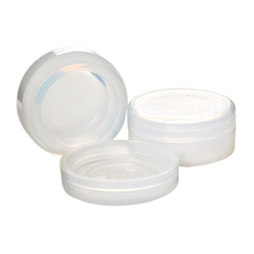 Silicone Non-Stick HIGH CLEAR Concentrate Container 5ML - 250 Count