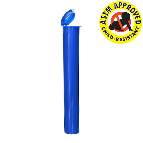 Opaque CR Cone Tube 116mm Blue - 1,000 Count