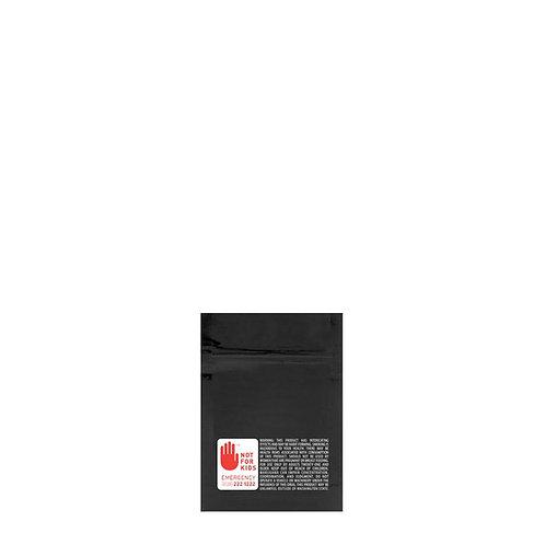 Mylar Bag WA Vista Black 1 Gram - 1000 Count