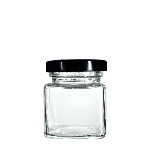 2oz Square Glass Jar - 120 Count