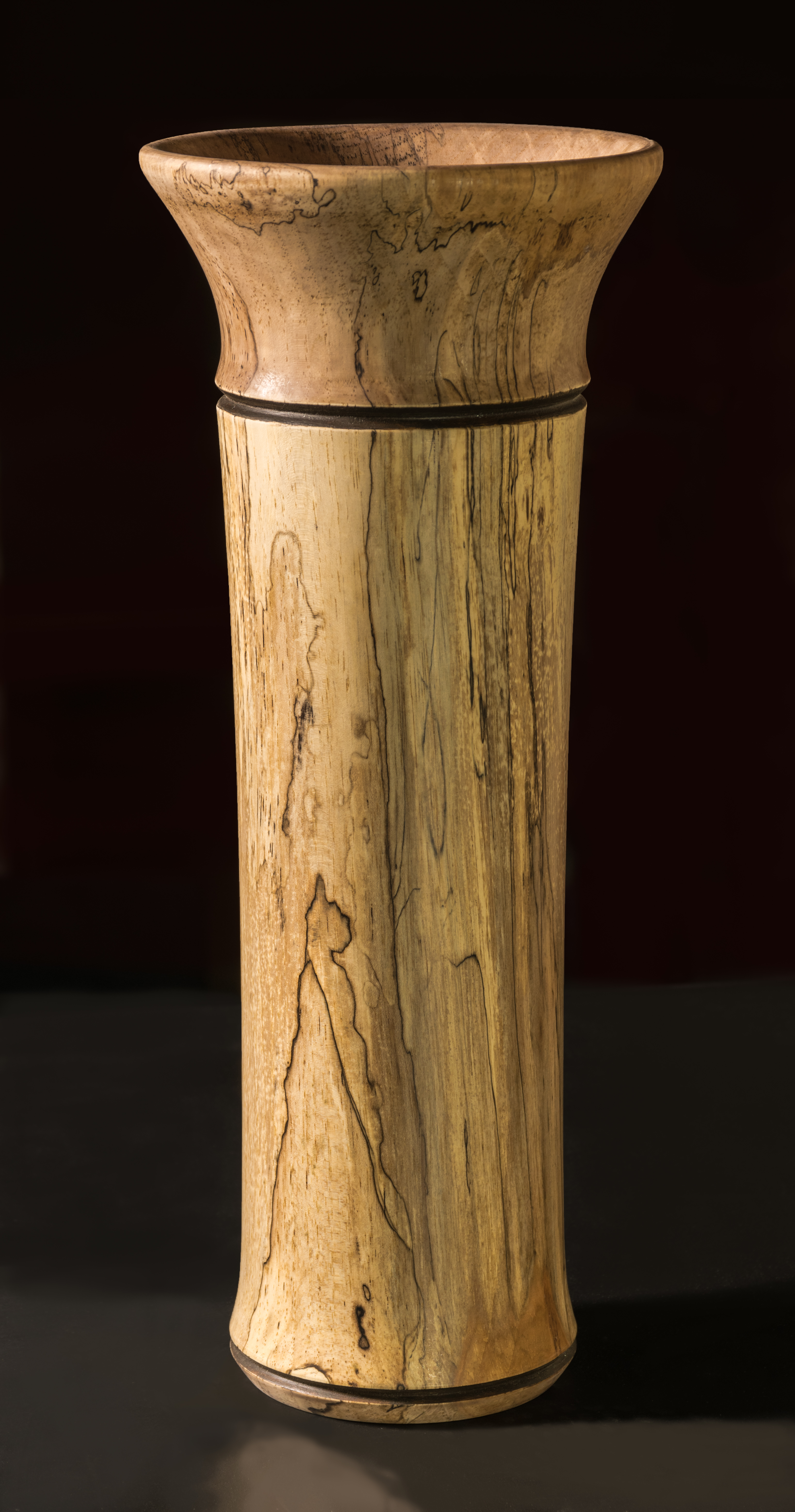Roger Harvey - Spalted Pecan Vessel