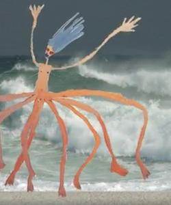 animation video 'walk'