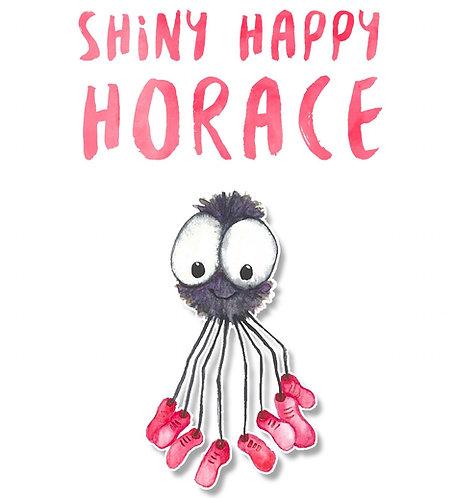 Shiny Happy Horace