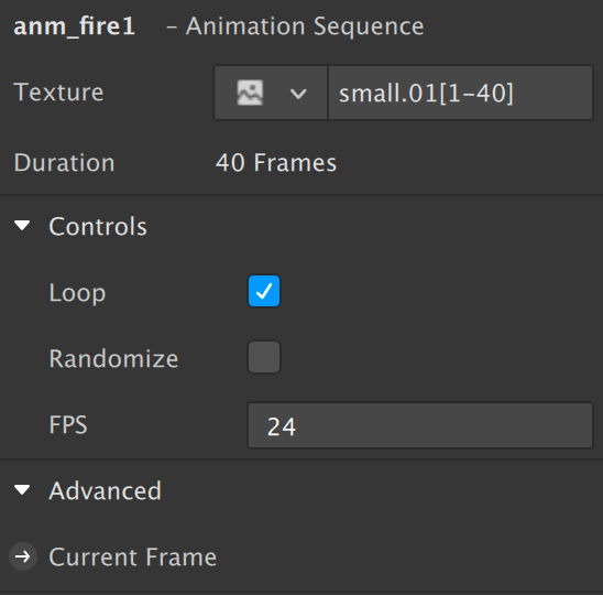 Animation sequence settings in Spark AR Studio