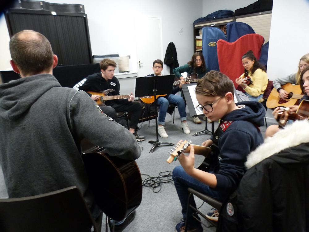 Formation Musicale avec la Guitare