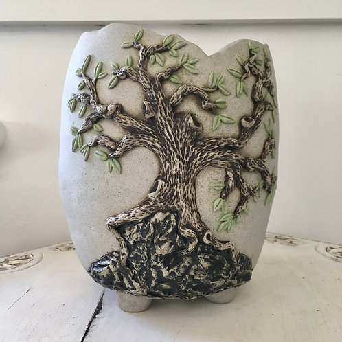 'Tree Of Life' Bonsai Pot