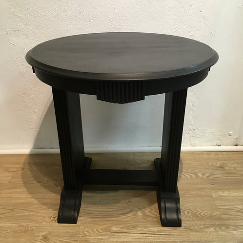 DECO VINTAGE ROUND OCCASIONAL TABLE