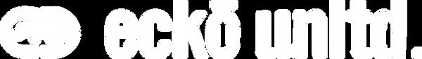 ecko unltd white trans logo.png
