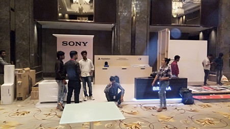 Sony Bravia - Product launch