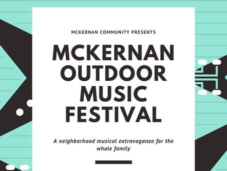 McKernan Outdoor Music Festival