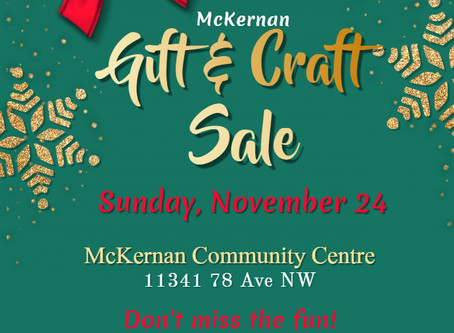 McKernan Gift and Craft Sale
