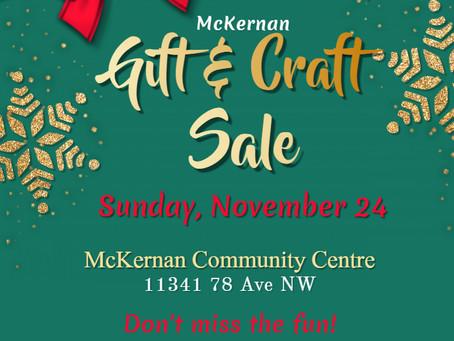 McKernan Gift and Craft Sale