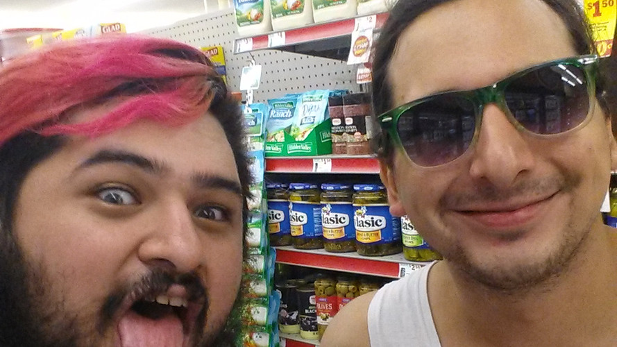 Anthony and Mike