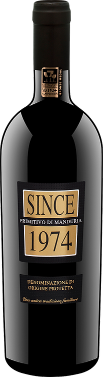 Since 1974 Primitivo di Manduria