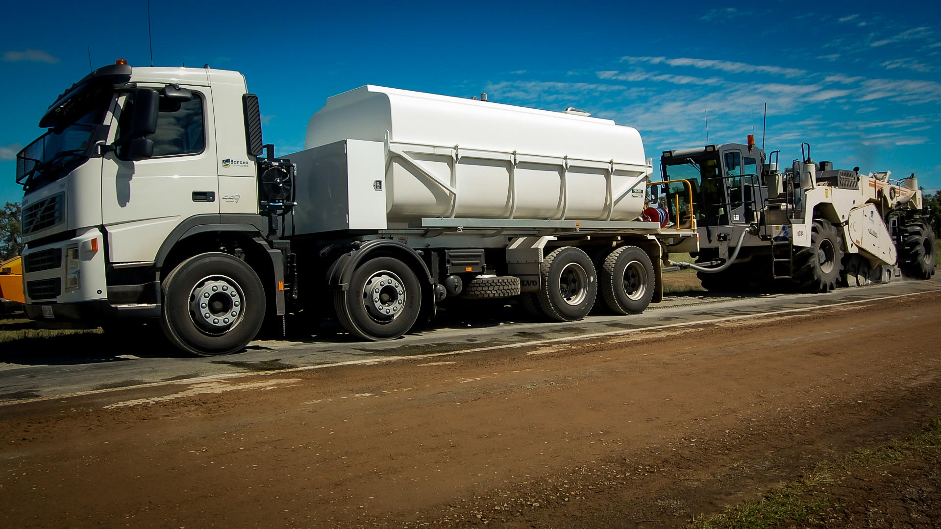 Road Reclaimer Uptime is Maximised