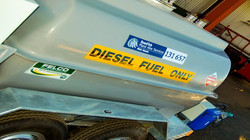 Diesel Fuel and Service Trailer
