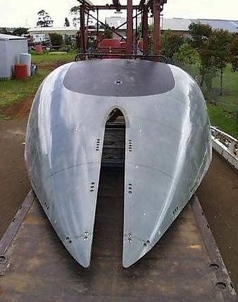 Collins Class Submarine Casing
