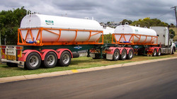 Skel Tankers for Liquid Supplement Re-Supply in the Gulf.