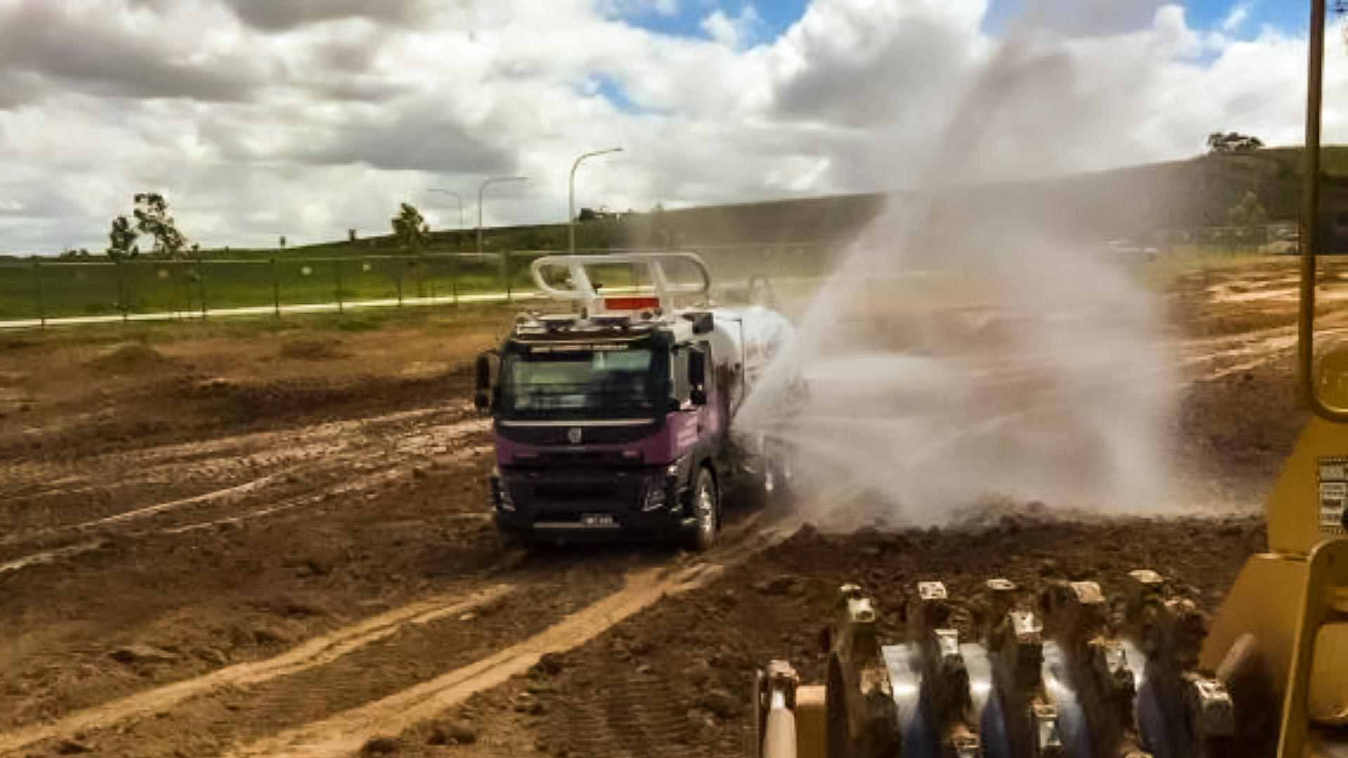 Dust Suppression in Civil Works