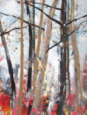 Robert McAulay/Scottish Artist/Glasgow/Black Dog Lurking 1