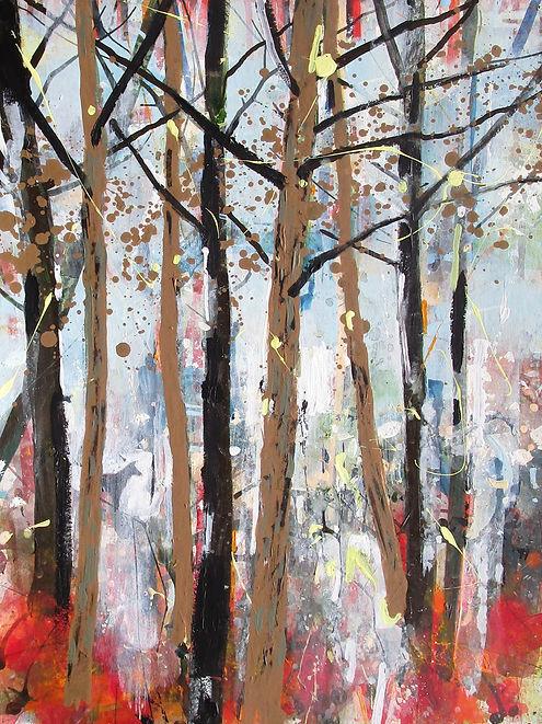 Robert McAulay/Scottish Artist/Glasgow/Black Dog Lurking 2