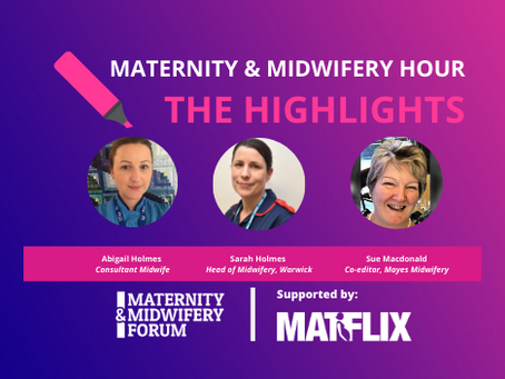 THE HIGHLIGHTS: Supporting pregnant women, new mothers and families