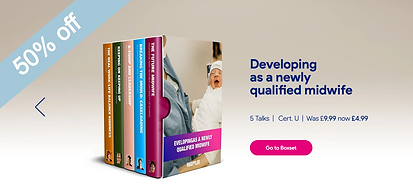 Developing as a newly qualified midwife boxset
