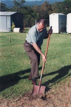 Lake Macquarie Mayor Breaking Ground