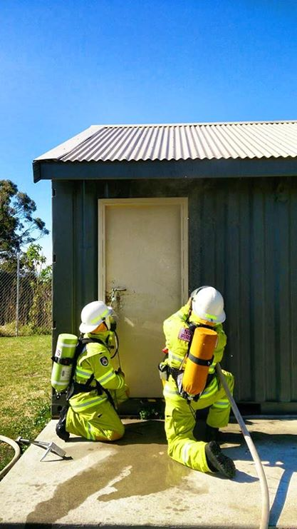 Breathing Apparatus training