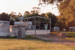 Seahampton Station Frame Work