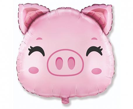 Balon foliowy 24 cale FX - Świnka