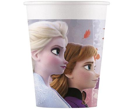 Kubeczki papierowe Frozen 2, 200 ml, 8 szt.