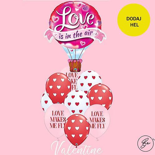 Bukiet balonowy Love U 10 szt