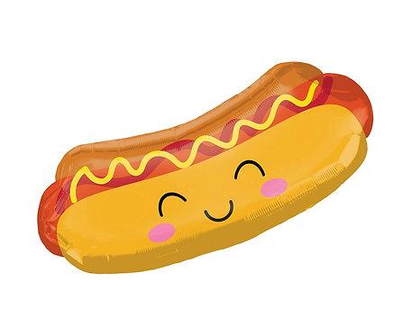 Balon foliowy SuperShape Hot dog, 83x38 cm