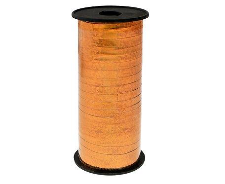 Tasiemka holograficzna różowo-złota, 100y (92 m)